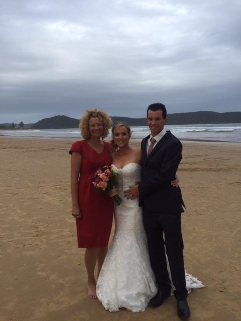 Mr and Mrs Fitzgerald (Nov 2015, Umina Beach)